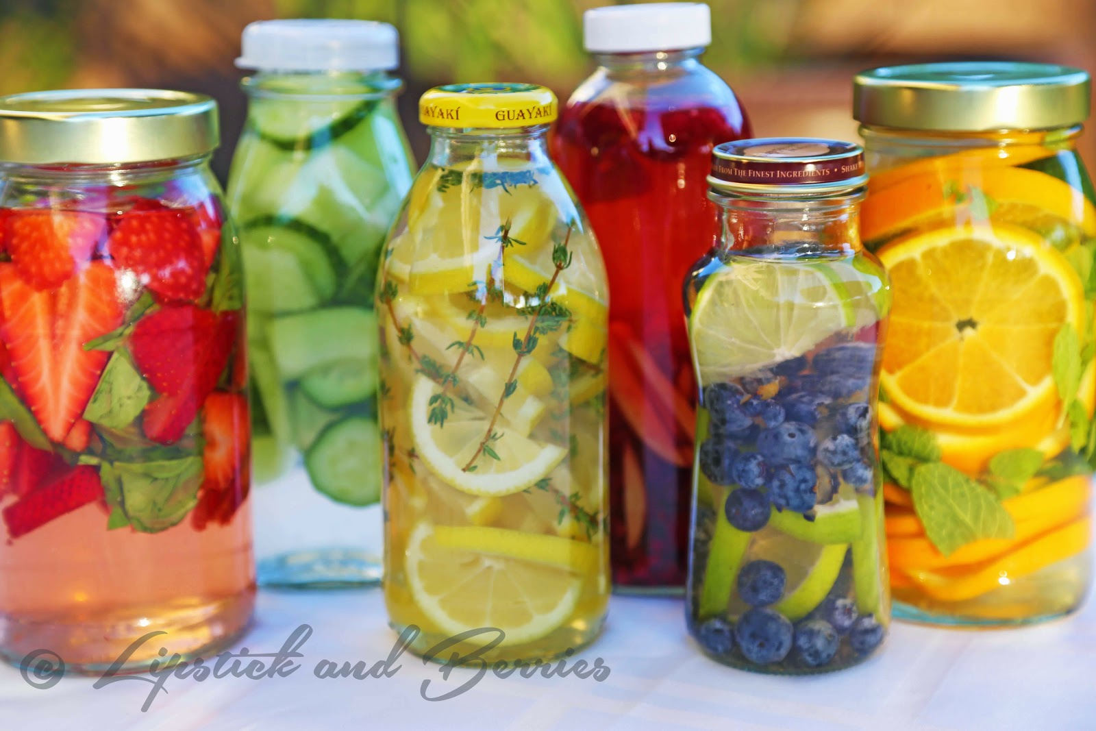 hand crafted Detox drink